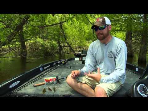 Thoughts on Pitching Bass Fishing Plastics