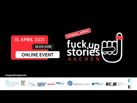 Fuck Up Stories Aachen - Company Edition