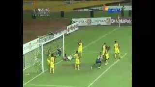 Video Gol Sriwijaya Vs Arema 01 Final SCM/SCTV Cup 2015  27 Januari 2015