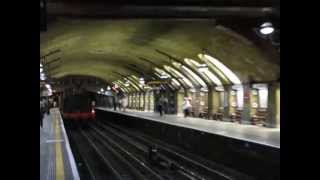preview picture of video 'London Underground Hammersmith & City 150th Trackside Scenes'