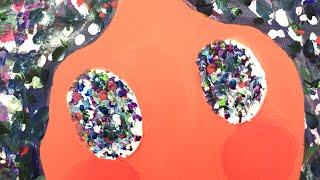 멍 Zone Out     Canvas Painting/ Abstract Painting/ 캔버스에 아크릴화