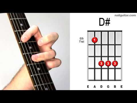 D# major - Learn Guitar Chords Quick & Easy Tutorial - Bar Chord Lesson