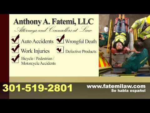 Anthony A. Fatemi, Personal Injury