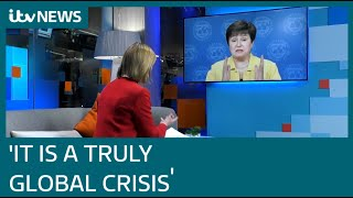 'Worst crisis since Great Depression': IMF boss gives blunt assessment of global economy | ITV News