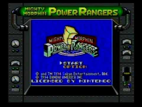 mighty morphin power rangers game boy download