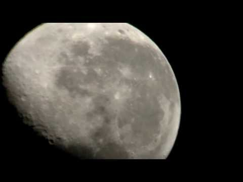 Moon Observing with Meade DS-2130S 130mm Reflector Telescope