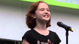 """Taylor Richardson of Broadway's """"Annie"""" sings 'Tomorrow'"""
