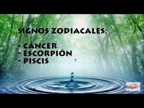 Como afecta el Elemento Agua a Cancer, Escorpio y Piscis - Hogar Tv  por Juan Gonzalo Angel