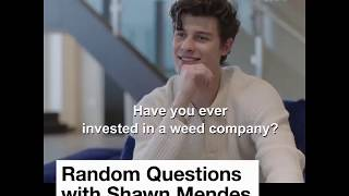 Shawn Mendes Talks About Weed, Eminem, Conspiracies Theories, And More!