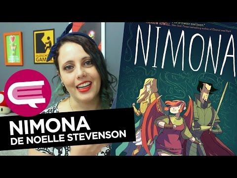 Nimona, de Noelle Stevenson | ESTANTE