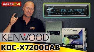 Kenwood KDC-X7200DAB | 1-DIN Autoradio mit DAB+ und Kenwood Remote App | ARS24
