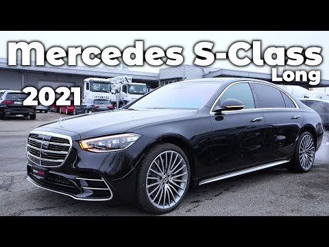 New Mercedes S-Class Long 2021 Review Interior Exterior