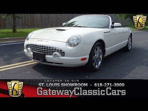 Video of 2003 Ford Thunderbird located in Illinois - QB5Q
