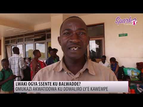 Abadde abba abalwadde mu ddwaliro e Kawempe kata agajjambulwe