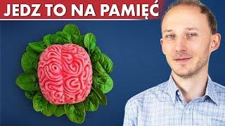 Dieta mózgu: 16 produktów na poprawę pamięci i koncentracji! Zdrowy mózg | Dr Bartek Kulczyński