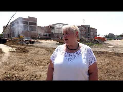 Строительство школы на 600 мест в г. Красный Сулин