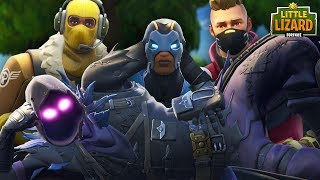 RAVEN JOINS THE SUPERSTAR DANGER TEAM!!!  FORTNITE SHORT
