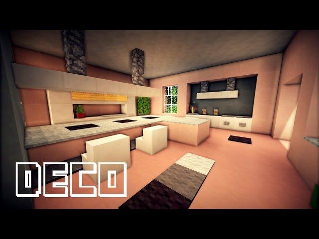 Tuto minecraft cuisine moderne minecraft creer une cuisine moderne - Comment creer une belle maison dans minecraft ...