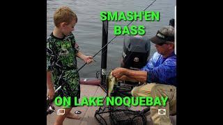 Lake Noquebay fishing points