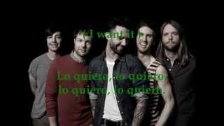 Maroon 5 - Infatuation HD Subtitulado Español English (lyrics)