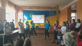 Танец в школе, наш 6 класс, маленький флешмоб
