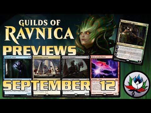 Guilds Of Ravnica Spoilers: Vraska, Golgari Queen; Guildmages' Forum; Midnight Reaper; And More! Mp3