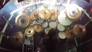 Hellhammer drum cam Mayhem live in oslo John dee 18.03.2018 Part 3