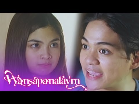 Wansapanataym: Santi and Jasmin tell Daisy to help in doing the household chores
