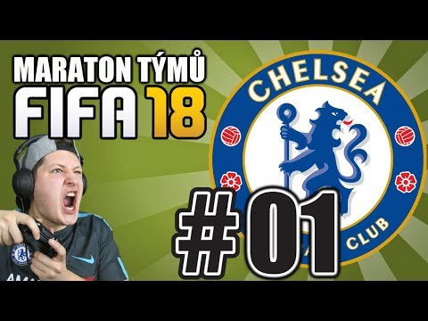 MARATON TÝMŮ #01- CHELSEA [FIFA 18]