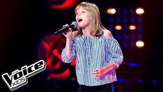 """Lena Marzec - """"Nobody's Perfect"""" - Przesłuchania w ciemno - The Voice Kids 2 Poland"""