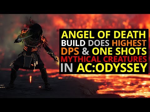 "Angel of Death Build ""One Shots"" Mythical Creatures In AC Odyssey!"