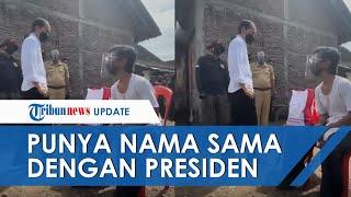 Momen Joko Widodo Menangis Ketemu Presiden Jokowi di Klaten, Haru hingga Undang Gelak Tawa Warga