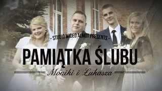 preview picture of video 'Czołówka Moniki i Łukasza Lomża. Kamerzysta na wesele Grajewo'