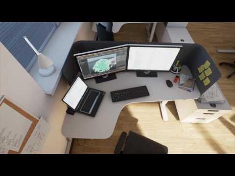 Офис в unreal engine 4