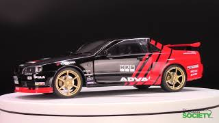 Soldio Nissan Skyline GT-R (R34) – Advan Drift Livery