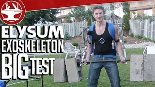 Make it Real: Elysium Exoskeleton -- the Big Test, 170LB Barbell Curl (Part 16)