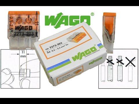 Wago Klemmen - richtige Verwendung/Einsatz