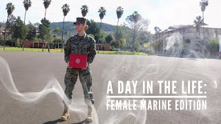 A Day In The Life: Female Marine