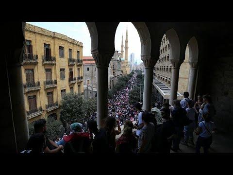 Hariri recebe proposta de reformas em novo dia de protestos