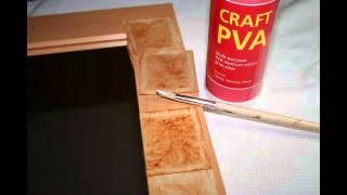Tea Bag Art Process