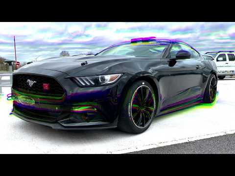 Ford Mustang Power @ Circuit De Clastres (FR)