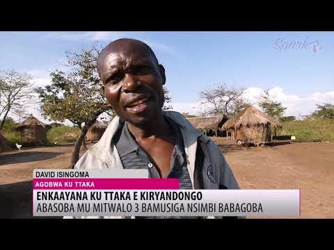 Abantu 30,000 boolekedde okugobwa ku ttaka e Kiryandongo