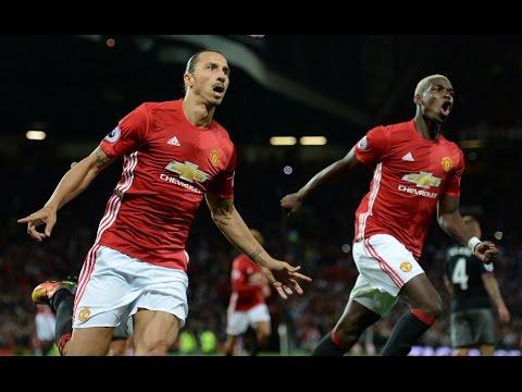 Top Gol Terbaik Ibrahimovic Selama di Manchester United