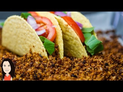Vegan Ground Beef Recipe – use for Taco meat, bolognese, pizza etc