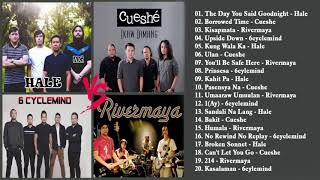 Hale, Cueshe, Rivermaya, 6Cyclemind Nonstop :OPM Tagalog Love Songs Playlist 2020 :Pamatay 80's 90's