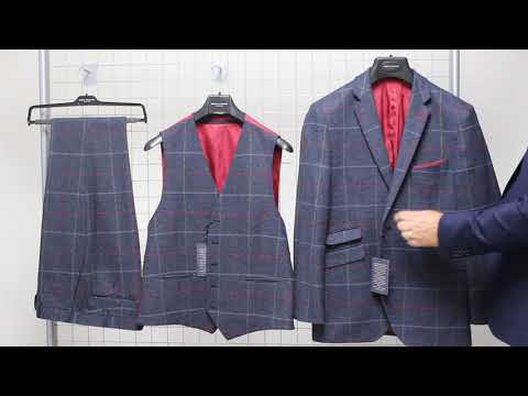 Haincliffe Tweed Three Piece Suit