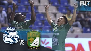 FUT AZTECA | Puebla 0-3 León | Azteca Deportes