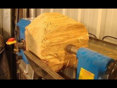90  Wood-turning a*$72,500*bowl from a $0.10 log in 60 minutes