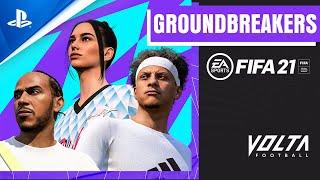 PlayStation FIFA 21 - New VOLTA Groundbreakers | PS5, PS4 anuncio