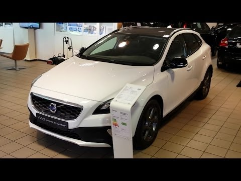 Volvo V40 Cross Country 2015 In deoth review Interior Exterior
